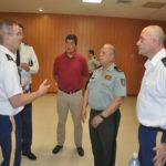 Visita de la Guardia Nacional de Wisconsin