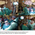 Desarrollo de Jornada de Cirugía Mínimamente Invasiva de piso pélvico